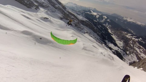 How to barrel roll in speedriding, speedflying
