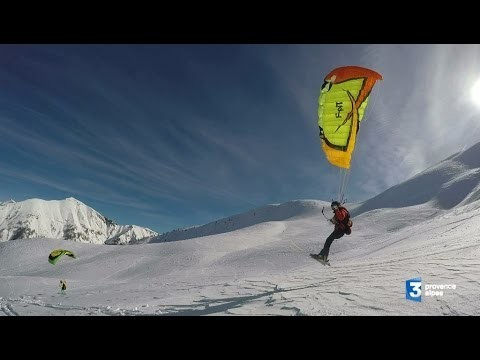 FRANCE 3 : Le speed-riding