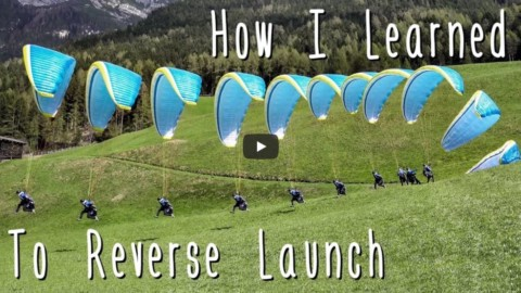 Le face-voile ou reverse launch